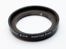 Tiffen #648 Series VI 6 Filter Holder Adapter UNTHREADED 38mm OD 34mm Ins. Dia.