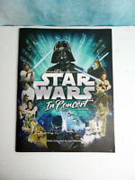 Star Wars In Concert by John Williams Tour Program Book Booklet Near Mint 2009