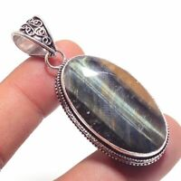 Tiger Eye Ethnic Jewelry Handmade Antique Desgin Pendant BP-2598