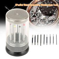 Screwdriver Set Repair Watchmaker Tool with Swivel Base Plate Pr Montre-bracelet