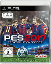 SONY PS3 Pro Evolution Soccer 2017 PES 2017 2k17 17 PlayStation 3 deutsch OVP