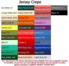 Jersey Crepe Fabric-ITALIAN MADE, *UK Depot*