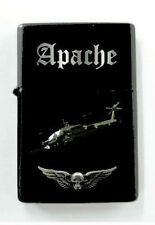 Boeing Apache Attack Helicopter Army Pilot Battle Black Wing Crew Night Lighter