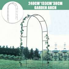 Garden Arch Wedding Gate Patio Decor Frame Archway for Climbing Vines Flowers