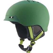 NIB ANON SNOWBOARDING NELSON HELMET L/XL $150 Green Grasshole Simple Fit