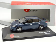 J Collection 1/43 - Nissan Sylphy 2012 Bleue