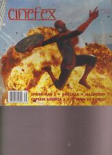 CINEFEX MAGAZINE #138 JULY 2014, SPIDER-MAN 2, GODZILLA, CAPTAIN AMERICA 2.