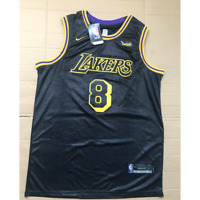 Los Angeles Lakers #8 Kobe Bryant Black Mamba City Edition Swingman Jersey