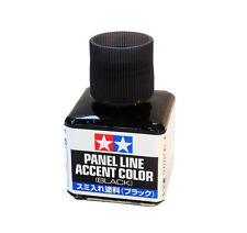 Tamiya Panel Line Accent Color Black (40ml)