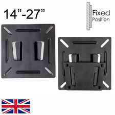 Ultra Slim Monitor LCD LED TV Bracket wall Mount For 14 19 20 21 23 24 27 inch
