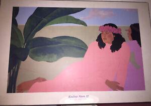 Pegge Hopper - Kailua Noon II 2003 - reproduction Print 36X24