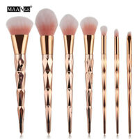 7 Pcs Makeup Brush Set Powder Foundation Eyeshadow Blush Cosmetic Brushes Tool