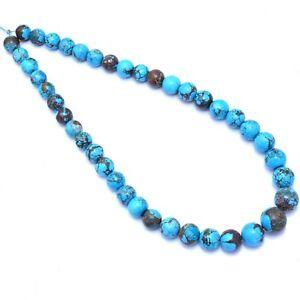 492 Cts Natural Arizona Turquoise Designer Round Ball Drilled Beads ~ 10mm-15mm