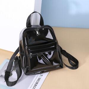 Waterproof Mini Transparent PVC See Through Clear Backpack Sport Bag Casual Bag