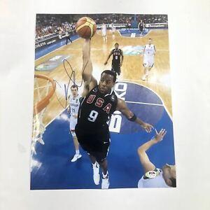 Andre Iguodala signed 11x14 photo PSA/DNA Team USA Autographed Warriors