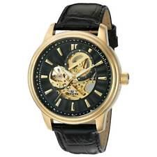 Invicta 22578 Edición Limitada De Caballero Negro y Oro Cuadrante Reloj Automático Negro Banda