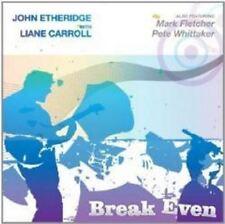 John/Liane Carroll Etheridge - Break Even (NEW CD)