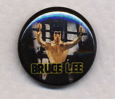 BRUCE LEE ENTER THE DRAGON Badge Button Pin -  COOL!