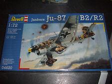 REVELL JUNKERS JU-87 B2/R2  PLASTIC MODEL 1/72