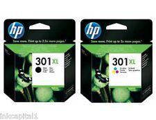 NO 301xl negro y color Original Oem Cartucho inyección de tinta para HP Deskjet