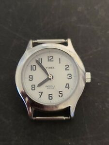 Vintage TIMEX INDIGLO STAINLESS STEEL Women's WATCH Face Only Model CR 1216