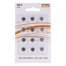 Pack de 12 Pilas Tipo Botón Litio en Blister Gran Calidad Modelo AG3 1.5V b13
