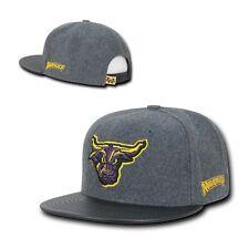NCAA Mankato Minnesota State Mavericks University Melton Vinyl Snapback Caps Hat