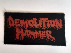 Demonlition Hammer patch,thrash metal,slayer,Anthrax,Kreator,Death Angel,exodus