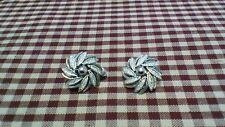Earrings Silver Clip