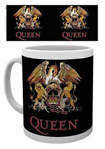 Queen Colour Crest Ceramic Mug (ge)