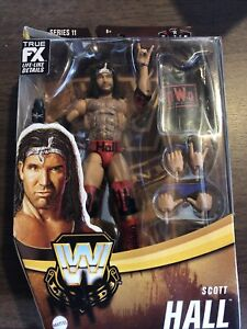 New WWE Elite Legends Scott Hall Series 11 In Hand Ready To Ship NWO Target Excl