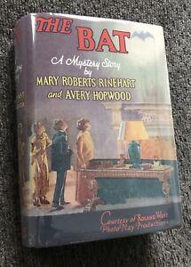 The Bat  1926 Book Bob Kanes Batman Detective Comics 27 Inspiration 吳衛龍