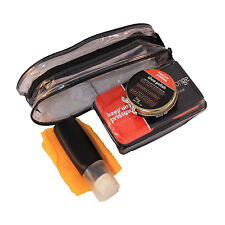 Shoe SHINE KIT Borsa Smalto Set: 5 Pack (Boot Cleaner cura Panno Spugna di calzature)