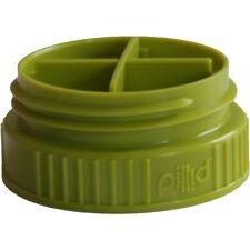 Nalgene Pillid Pill-Lid Store Pills, Essentials Atop your Water Bottle - Green
