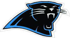 """Camiseta de Jersey Carolina Panthers Nº Nfl Football Calcomanía, Decoración De Pared, Etiqueta De Vinilo, 5""""x 2.7"""""""