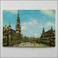 Brussel Grand Square Town Hall & King's House Postcard (P398)