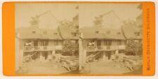 Moulin de Bernadette Soubirous Lourdes Photo Viron Stereo Vintage Albumine