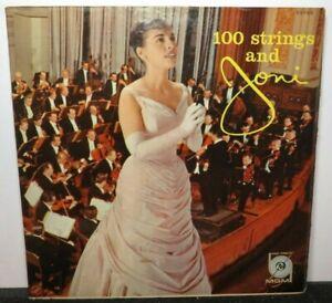 JONI JAMES ONE HUNDRED STRINGS (VG+) E3755 LP VINYL RECORD