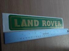 Land Rover Vinyl Decal sticker
