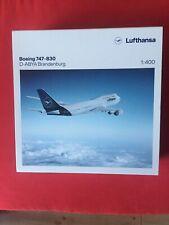 Lufthansa Boeing 747-8 D-ABYA Brandenburg Herpa 1:400 Limitiert NEU OVP