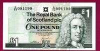 *QWC* Royal Bank of Scotland RBS - £1 - Last Ever Prefix C/94 - UNC