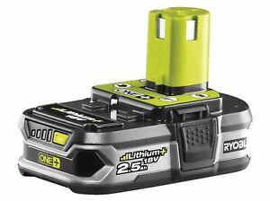 Batterie pour outil Ryobi RB18L25 One+ 5133002237 18 V 2.5 Ah Li-Ion