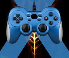 PC Vibration Wired controller USB- SENZE Branded Blue
