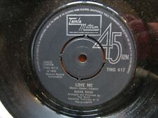 DIANA ROSS Love Me-Save The Children Tamla Motown TMG917 1974