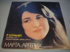 Martha Argerich - piano Schumann Fantasia, op.17 LP RUS