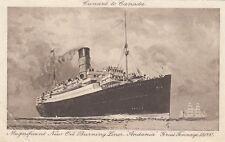 "Postcard - Cunard to Canada - Liner ""Andania"""