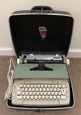 SMITH CORONA ELECTRIC CORONET AUTOMATIC PORTABLE TYPE WRITER WORKING