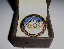 1936 Winter Olympics GARMISCH-PARTENKIRCHEN Bavaria Germany 50th anniversary Pin