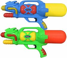"2 x Giant 18"" 46cm Super Pump Action Water Guns Fight Cannons Soaker Toys 086"