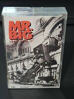MR. BIG Lean Into It CASSETTE TAPE 1991 Atlantic TO BE WITH YOU Hard Rock b6